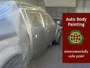 Auto Paint Spray Booth